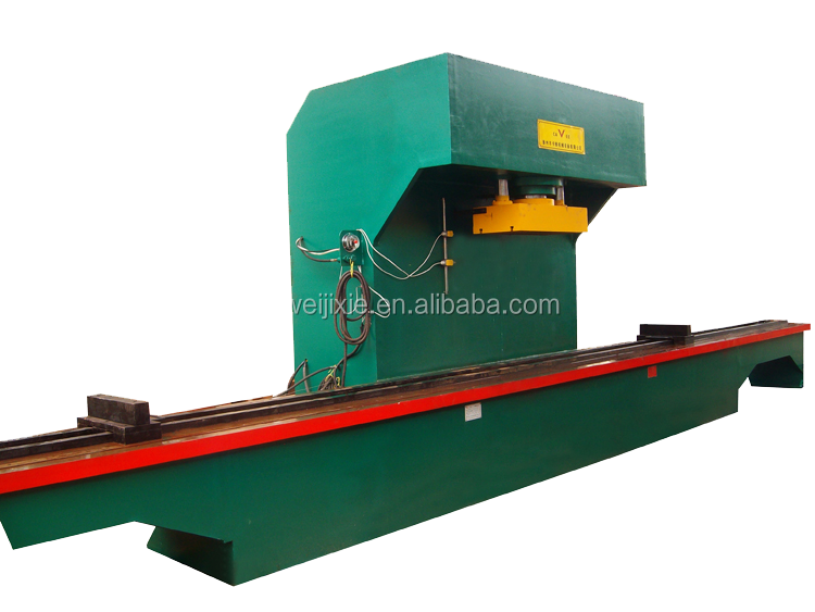 all in one single arm(c type) 10 meter workshop hydraulic press machine straightening machine