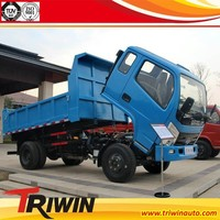 4x2 6 wheel drive RHD LHD 2-3t mini 1 ton four wheel drive dump truck