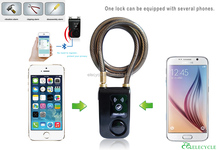 Hot Sales Anti-theft Smart Bluetooth Lock for Doors bike motorcycle