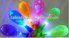 plastic maracas with LED light/flashing maracas