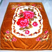 100% polyester single ply raschel korean blanket