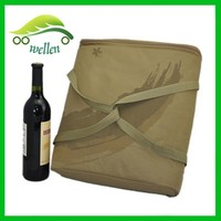 Custom high-quality special thermal wine cooler carrier bag