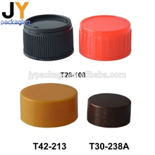 Custom eco-friendly child resistant bottle closure hot selling non-slip plastic bottle screw cap seal