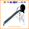 compacted non pressurized vacuum tube solar water heater