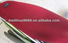 2014 New style Red 3d Coll Mesh Motorcycle saddle cover