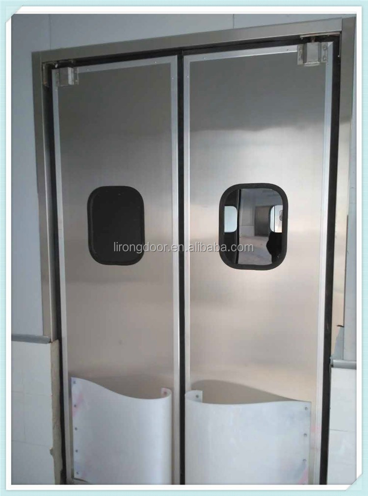 Stainless Steel Swing Door Main Door Designs Double Swing Door - Buy on commercial door swing through, commercial swing door open right, commercial glass door freezers, commercial double swing front doors,