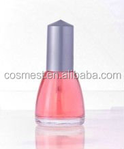 empty nail polish bottle 12ml capacity cheap plastic nail polish cap