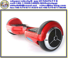 "Balance 2 wheel scooter , 500w self balancing foot scooter , 6.5"" red scooter drifting"