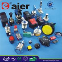 Daier rubber push button switch