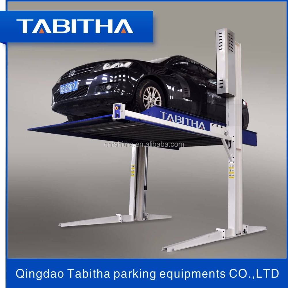 hydraulic mini electric car vehicle parking lift for home garages