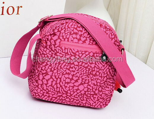 wholesale pink cotton fancy shoulder bags with pockets