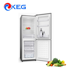 158L Wholesale Used Appliances Mechanical Control Compressor Fridge National Refrigerator with Double Circulation Air Duct