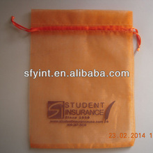 organza bag with logo printing