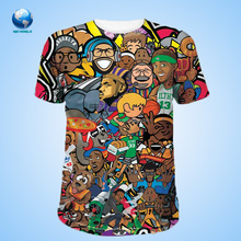 latest shirt designs for men 2015 & 3d t-shirt & sublimation 3 D printing t shirt&all over print shirt