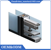 Professional Wholesale aluminium window frame profiles for solar panel frame with window