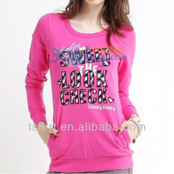 2013 latest design ladies t shirt