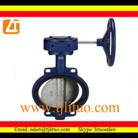 dn40dn1200 concentric disc flanged butterfly valve