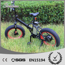 "20"" 48V 500W Mountain Exercise Electric Bike folding Fat tyre Beach electric bike/bycicle/ebike"