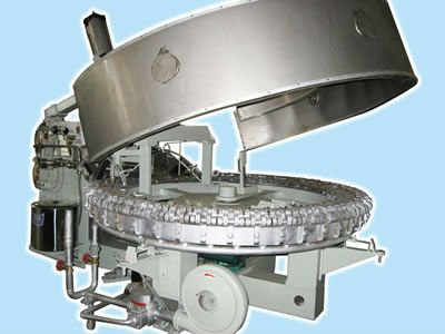 Automatic Cone Roasting Machine