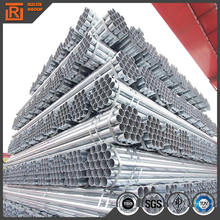 Sockets steel pipe, small diameter pre gi steel tube, standard length of galvanized pipe