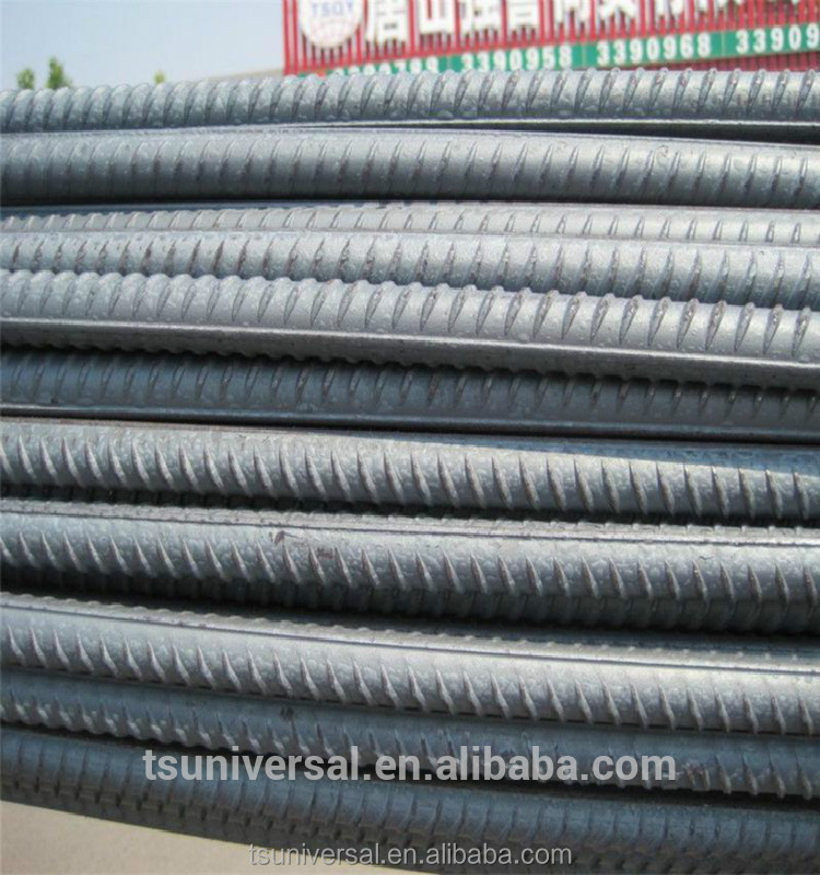 GR460 BS4449 Grade Steel Rebar steel rebar, deformed steel bar, iron rods for construction HRB400 Grade and 6m