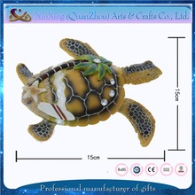 hot sale beautiful cheap tortoise resin interior decoration items