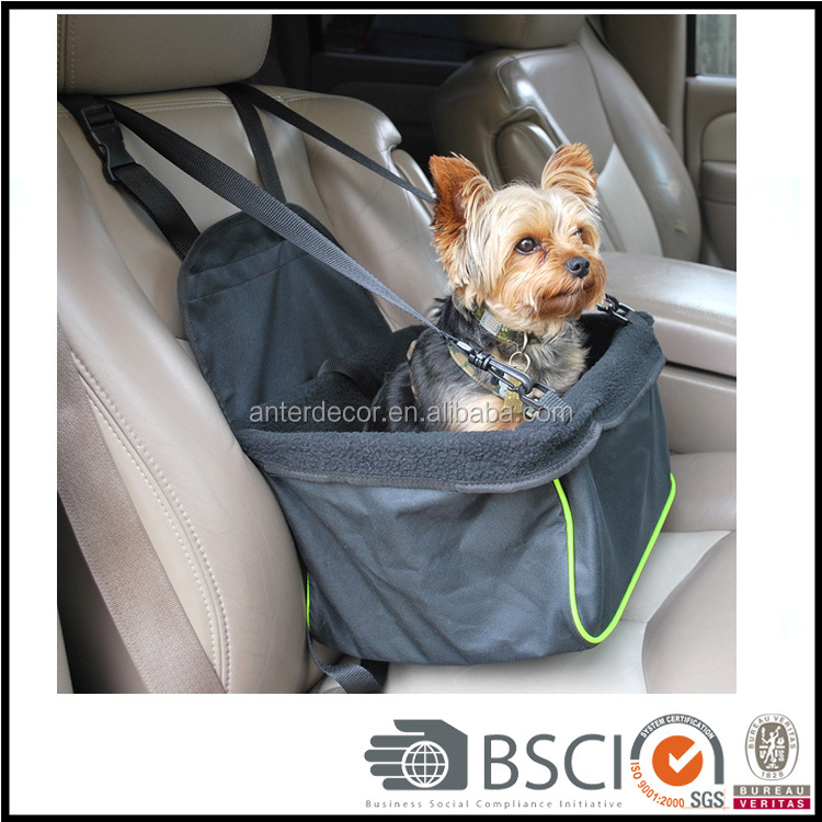 Newly Designed 2016 Custom Dog Car Seat Carrier Travel Bag for Puppy (CR-CN79)