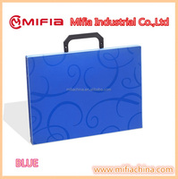 school document stationery a4 custom size pp plastic box file folder with handle &Buckles