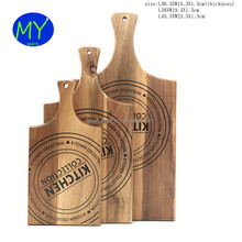 New promotion Custom Kitchen Acacia Wood Cutting Board 3 Pieces Set With ISO9001 Certificate