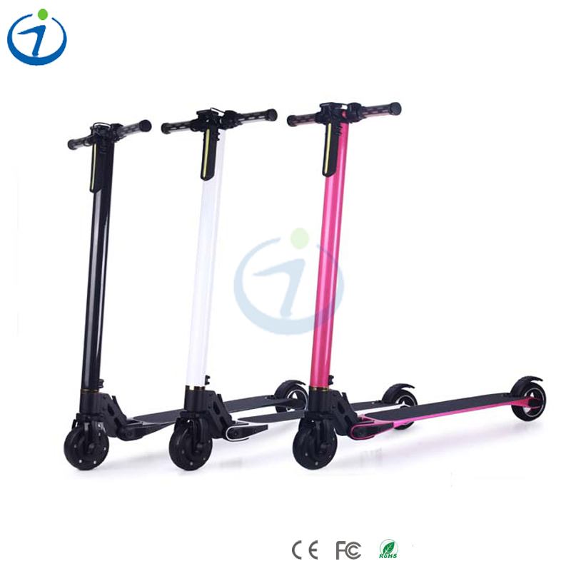 Hot selling Brand new with Samsung battery carbon fibre ride on electric scooter
