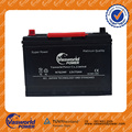 Maintenance free JIS N70ZMF 12v75ah Car Battery With High Quality