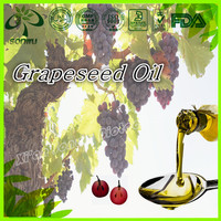 Pure grape seed oil extraction/cold pressed grape seed oil
