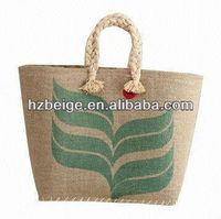 jute shopping bag buyers wholesale promotional Custom made In China