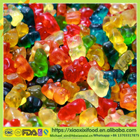 Starch and Gelatin Based Doll Shaped Gummy Sour Gummy Candy