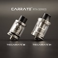 2016 Revolutionary Tesla Original RTA!! Tesla Carrate 22 RTA Stainless Steel & Glass 2.0 ML RTA
