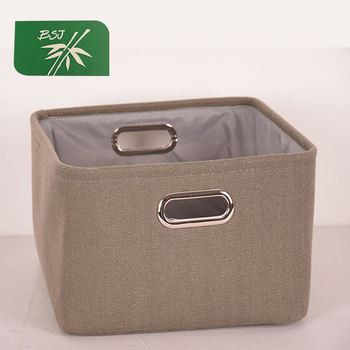 Foldable Square Three-piece Suit Decorative Storage Baskets
