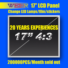 Refurbished 17 Inch 4:3 LCD TV Panel with LED lamps and change film