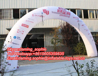 Outdoors Advertising Inflatable Arch with Free Logos Printing