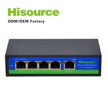 5 Port Industrial Ethernet Switch, 4 port poe over ethernet Switch