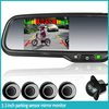 OEM 3.5 inch rearview monitor with reverse parking sensor radar