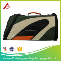 wholesale promotional product 600D polyester puppy travel bag / pet cage