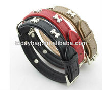 leather collars for pitbulls