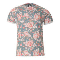 Wholesale Floral Full Printed T Shirt For Sublimation Printing