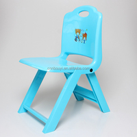factory price printed kids folding plastic chair