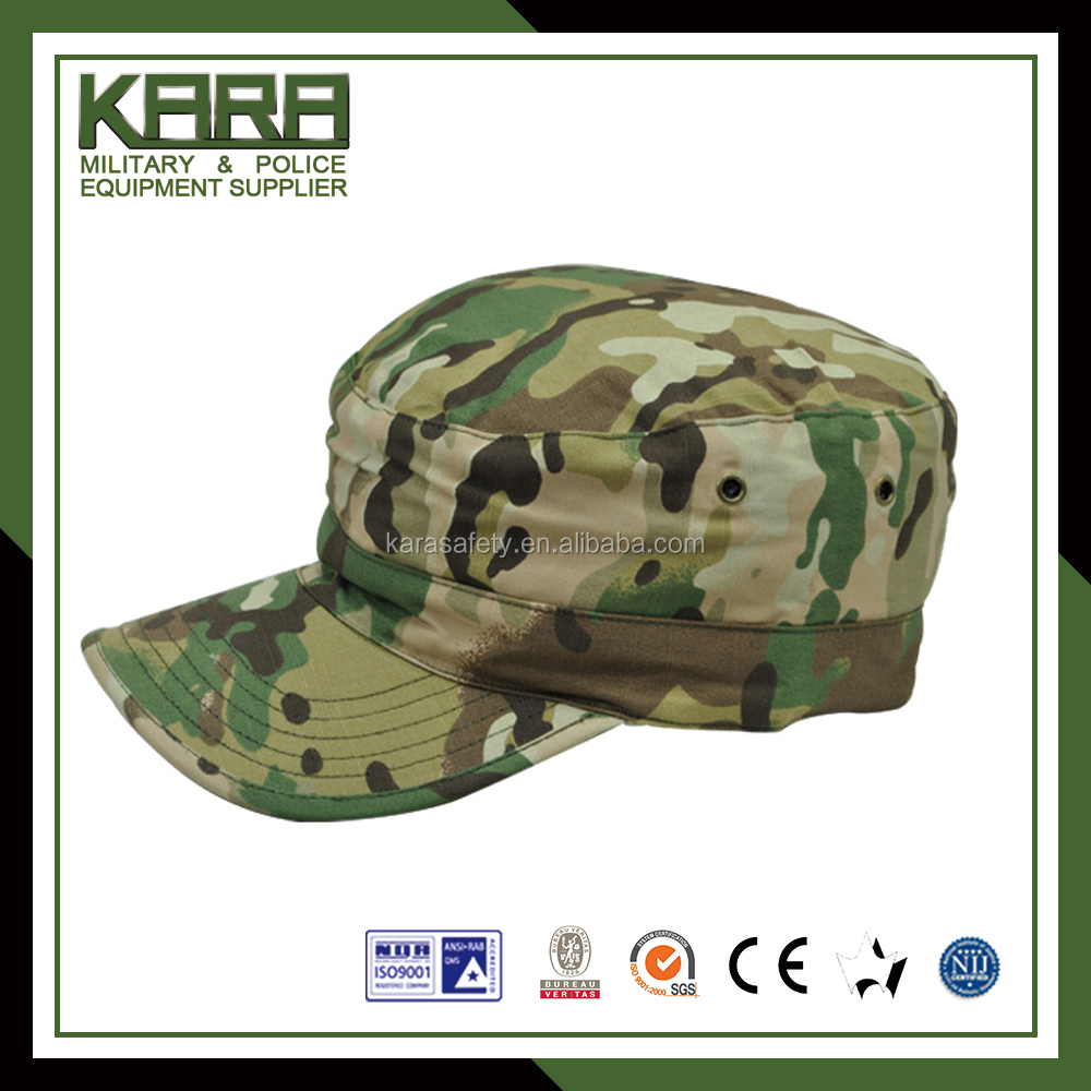 camo green military hat
