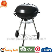 Kettle BBQ Grill with black enamel Round BBQ Grill