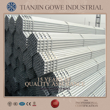competitive customised black and galvanised scaffolding tubes or building/construction