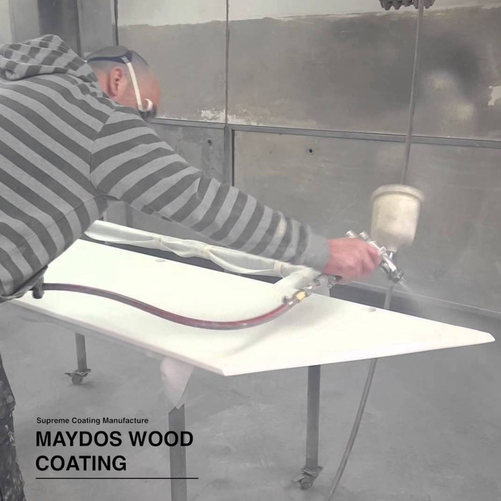 PE coating polyester wood furniture primer lacquer paint