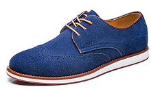 New Guangzhou leather shoes cow suede england style men casual shoes