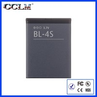 860 mah BL4S mf battery durable battery for Nokia 2680,2680S,3600,3600 Slide,3600S,3710 Fold